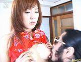 Three Guys Get Off Fucking Sonomi Takahara's Pussy