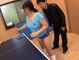 Naughty Japanese AV Model sporty girl cums from rear fuck