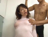 Yuna Haruma's Oiled Up Boobs In A Shirt Are Good For A Tit Fuck picture 15