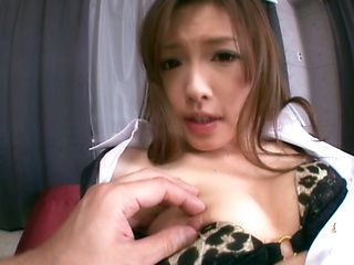 Aiko Hirose Asian MILF gets creampie