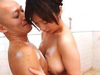 Amazing Japanese sex expert Wakaba Onoue in hardcore action