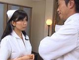 Doctor Has Hina Hanami's Tight Nurse Pussy To Fuck picture 11