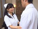Doctor Has Hina Hanami's Tight Nurse Pussy To Fuck picture 15