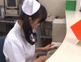 Doctor Has Hina Hanami's Tight Nurse Pussy To Fuck