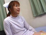 Hot Asian nurse has sex at work picture 5