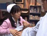 Hina Hanami Sucks And Titty Fucks In A Nurse Outfit
