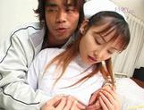 Rina Usui hot dick riding picture 14