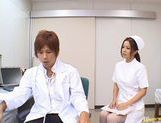 Manaka Kazuki Hot Japanese nurse is kinky picture 8