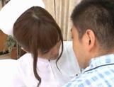 MILF Nurse Erika Kashiwagi Takes A Creampie From A Patient