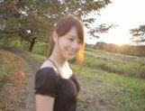 Cum swallowing with sexy Akiho Yoshizawa picture 12