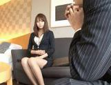 Beautiful Asian secretary is sexy picture 6