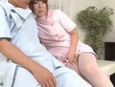 Exquisite Japanese nurse Yui Hatano teases cock