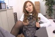 Kotone Amamiya Hot Asian office babeasian boobs, big asian boobs