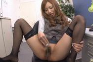 Kotone Amamiya Hot Asian office babehuge boobs, big tits porn