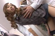 Kotone Amamiya Hot Asian office babesex tits, japanese tits