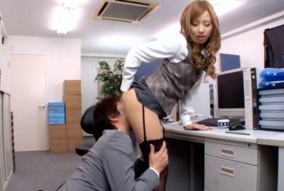 Kotone Amamiya Hot Asian office babe