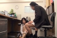 Lustful Asian office hottie enjoys genuine banging getting cum on titsbig boobs, huge tits, big tits sex