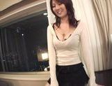 Lovely Yui Tatsumi sex costume and hot hardcore action picture 14