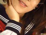 Yuuna Akimoto schoolgirl hot action