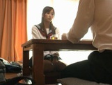 Voyeur Cam Captures Chika Eiro Having Sex In Her Schoolgirl Outfit picture 15