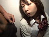 A Hard Fucking In A Threesome Nets Chika Arimura A Creampie picture 15