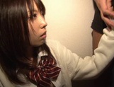 A Hard Fucking In A Threesome Nets Chika Arimura A Creampie picture 1