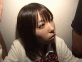A Hard Fucking In A Threesome Nets Chika Arimura A Creampie