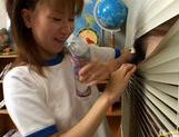 Schoolgirl Aya Natsuki pounded by cock picture 12