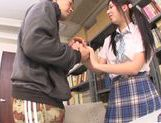 Asian schoolgirl Yuuki Itano gets deep penetrated picture 10
