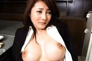 Mei Sawai Japanese sexpot is a teacherhuge boobs, big round tits