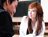 Keito Miyazawa Asian teacher has hard sex picture 12