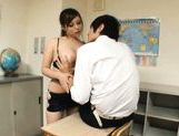 Kanon Ozora is a busty Asian teacher picture 8