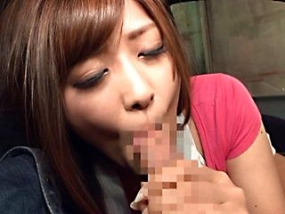 Lovely Satou Haruka enjoys masturbation before fucking
