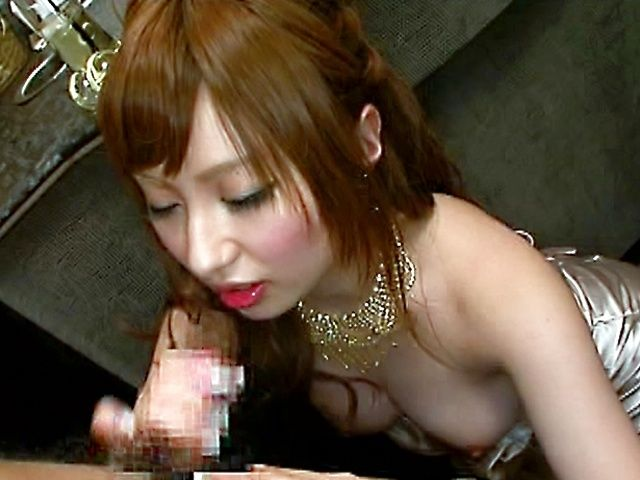 Cocomi Naruse sucks cock like crazy!