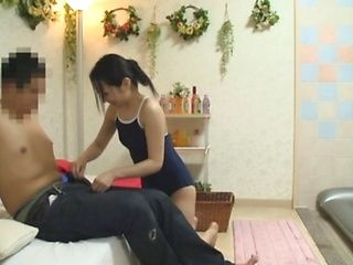 Stunning Japanese AV Model gives a hot blowjob