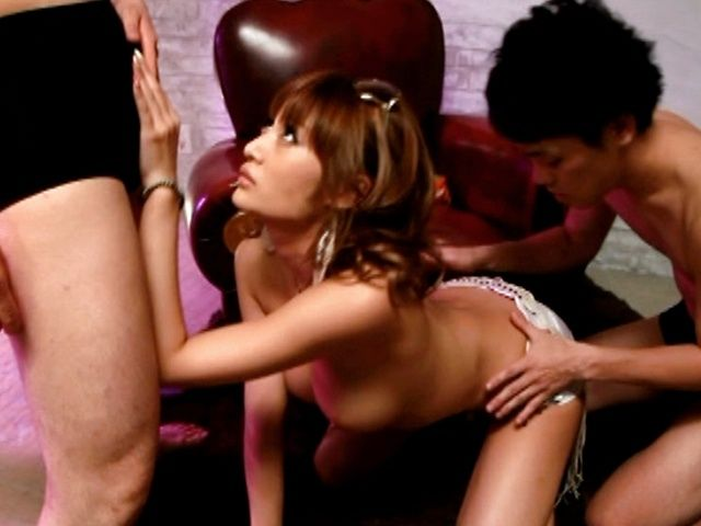 Kirara Asuka fucking three studs!