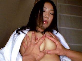 Huge tits babe Momoka Honora fucked hard