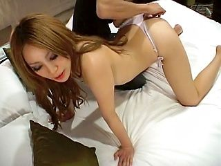 y blond Asian porn star teasing, making out and get screwed hardcore