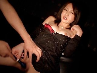 Two Cocks Give Saki Yano A Facial After A Blowjob