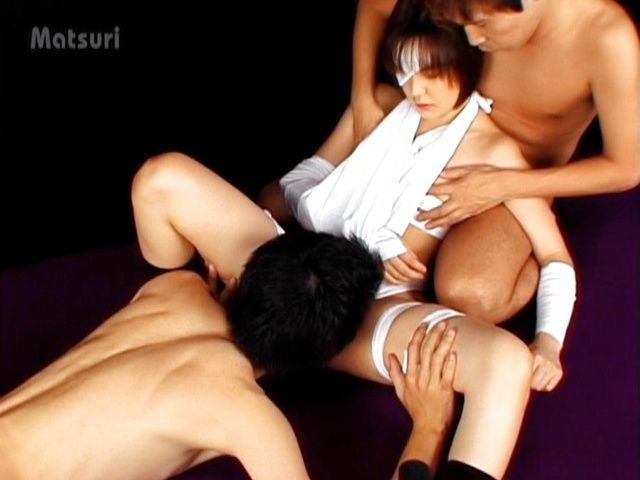 Nao Hirosue Hot Asian chick in cosplay sex party
