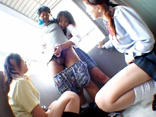 Misaki Nana and Asian friends are kinky Asian girls