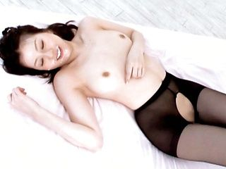 Yui Tatsumi takes a fucking from behind while in pantyhose