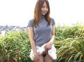 Naughty Asian milf Akiho Yoshizawa enjoys sucking cock outdoors