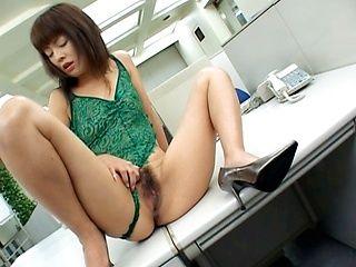 Mai Satsuki Office girl has sex on break