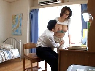 Mio Takahashi horny Asian teacher gives after school lessons