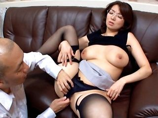 Mio Takahashi amazing Japanese mature lady is insatiable