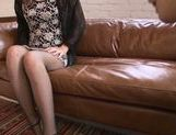 Upskirt action with horny Natsumi Shiraishi picture 4