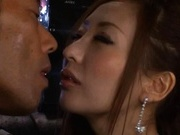 Erena Aihara Asian model enjoys a rear fucking