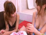 Kirara Asuka And Another Girl In A Bathroom Threesome picture 11
