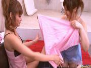 Kirara Asuka And Another Girl In A Bathroom Threesome